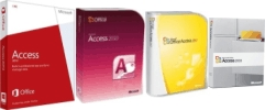 Microsoft Access 2016, 2013, 2010, 2007, 2003, 2002, 2000, and 97