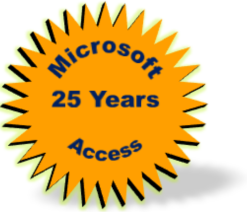 Microsoft Access 25th Birthday Anniversary