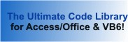 Royalty free source code library modules for Microsoft Access, VB6, VBA, Office