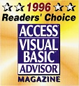1996 Readers Choice Award
