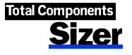 Total Components Sizer Logo
