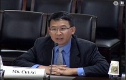 Luke Chung Testifying before Congress