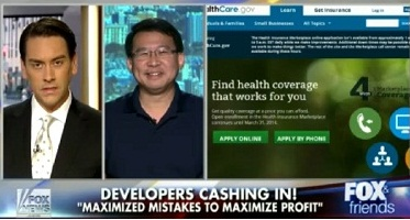 Luke Chung Interviewed on Fox and Friends