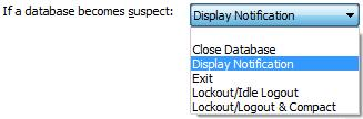 Identify Dropped or Suspect Connections to Microsoft Access databases